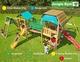Jungle Gym | Speelparadijs Mega 1 | Blauw
