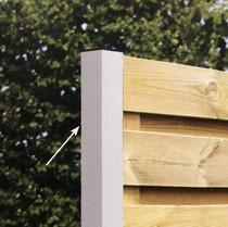Gardival | Aluminium beginpaal | systeem 49 mm |7x7x270 cm