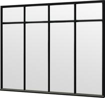 Trendhout | Steel Look raam module C-02 | 276x220 cm