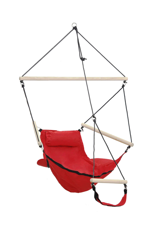 Amazonas | Swinger hangstoel | Rood