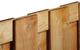 Jumbotoogscherm 15-planks | 180 x 85/100 | Verticaal
