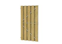 Jumbo Deurframe met planken Verticaal | 200 x 100