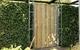 Deurframe met planken verticaal | 100 x 200 cm | Uitgefreesd slotgat