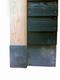 Betonpoer met facetrand | 22 x 22 cm voor paal 19-20 cm | Inclusief stelplaat