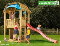 Jungle Gym | Barn | DeLuxe | Rood