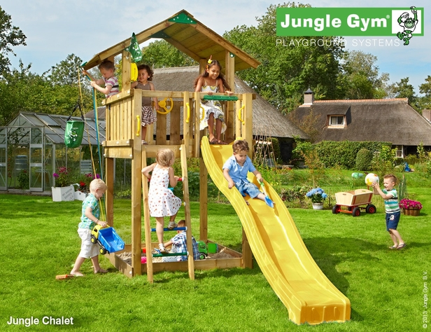 Jungle Gym | Chalet | DeLuxe | Donkergroen
