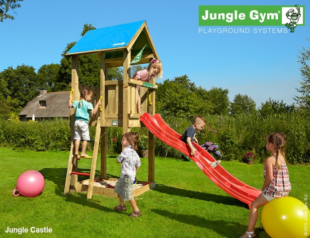 Jungle Gym | Castle | DeLuxe | Rood