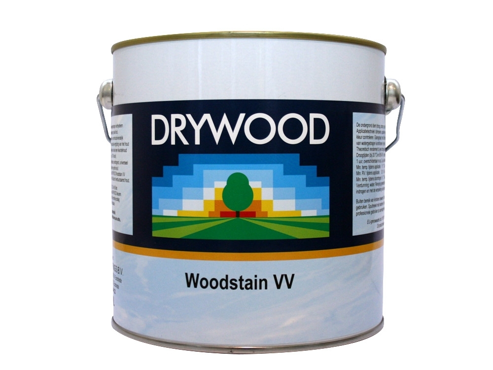 Drywood Woodstain Ebony Mat
