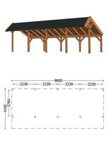 Trendhout | Kapschuur De Heerd 9.8m | Combinatie 1