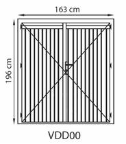 GrandCasa Comfortline Deur | VDD00 168 x 196