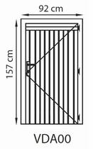 GrandCasa Comfortline Deur | VDA00 92 x 157