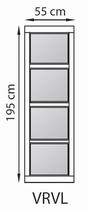 GrandCasa Comfortline | VRVL Vast raam 55 x 195