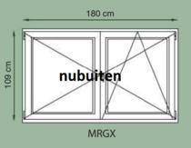 GrandCasa Exclusive | MRGX Vleugelraam 180 x 109