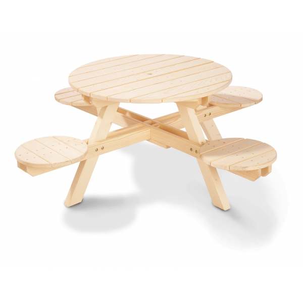 Kinderpicknicktafel | Nicki rond