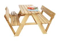Kinderpicknicktafel | Lilli met leuning