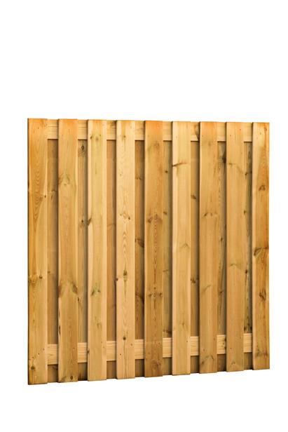 Grenen plankenscherm | 19-planks | 180 x 180 cm