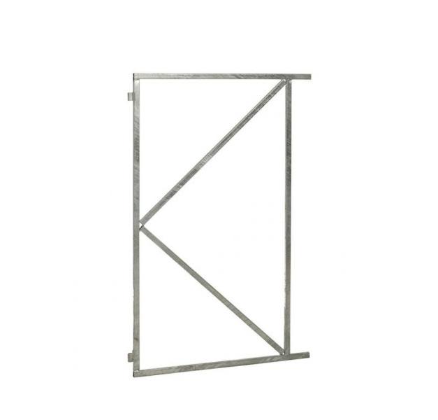 Stalen poortframe vast | 100 x 155 cm | Vuurverzinkt