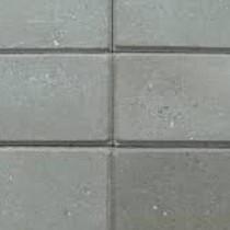 Excluton | Halve betontegel met facet 15x30x4.5 | Grijs