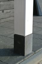 Trendhout | Betonpoer | 15x15cm voor paal 15x15 RUW