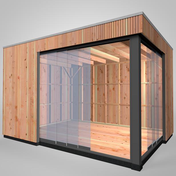 Westwood | Buitenverblijf | Tiny House | Design | 400 x 300 cm | Verticaal |