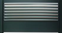 IdeAL | Antraciet Aluminium Elips Lamellen verstelbaar Tuinscherm