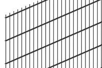 Hillfence | Dubbelstaafsmat | 183cm | Diepzwart RAL9005
