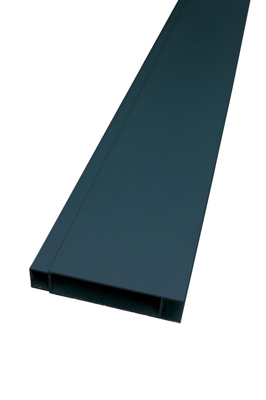 IdeAL | Zilver Aluminium tand en groef profiel 180 cm