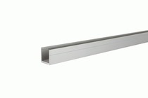 IdeAL | Zilver Aluminium U-lijst 180 cm