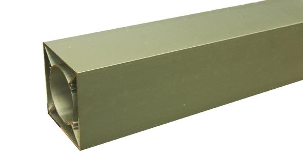 IdeAL | Onbehandeld Aluminium paal