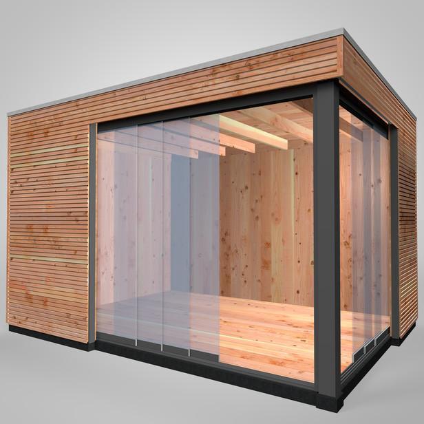 Westwood | Buitenverblijf | Tiny House | Design | 400 x 300 cm | Horizontaal