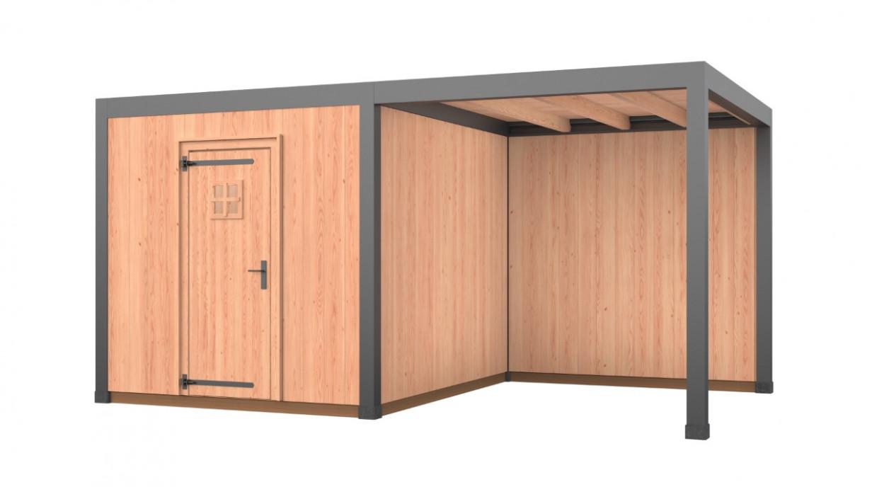 Gardia | Buitenverblijf Alu & Wood | 500 x 300 cm | C5S