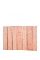 Scherm Douglas Fijnbezaagd | Brede plank | 130 x 180 cm