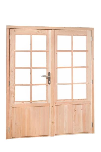 Douglasvision | Dubbele deur 8-ruits | Blank