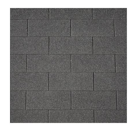 Shingles | Zwart | Per pak | 3 m²