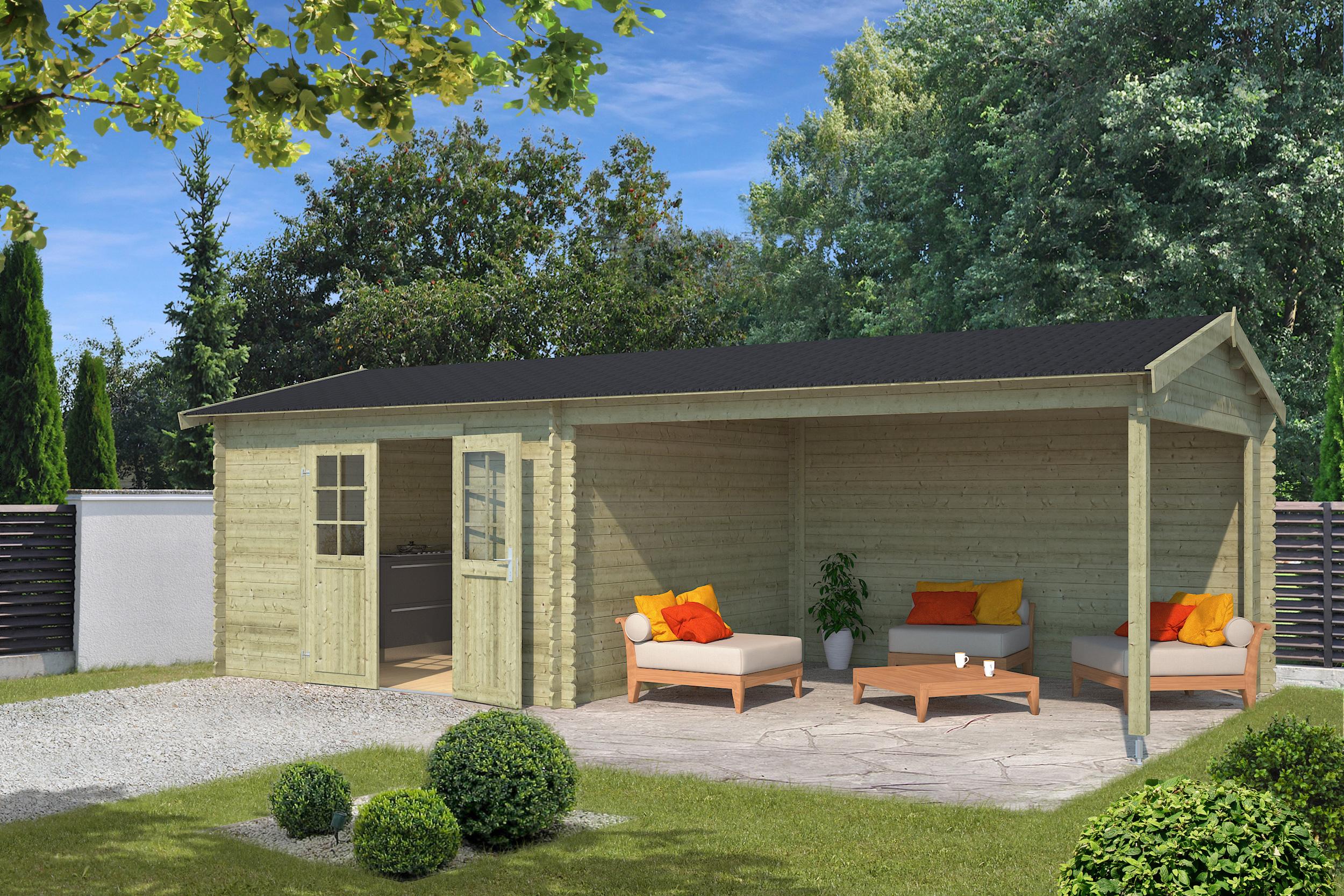 Blokhut | Madita | 710 x 330 | Outdoor life | Groen
