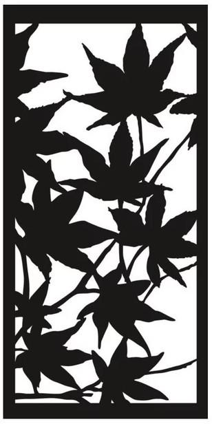 Cortenscherm Autumn - 120x60 cm