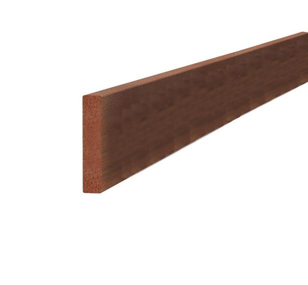 Hardhouten Lat 16 x 90 geschaafd 180cm