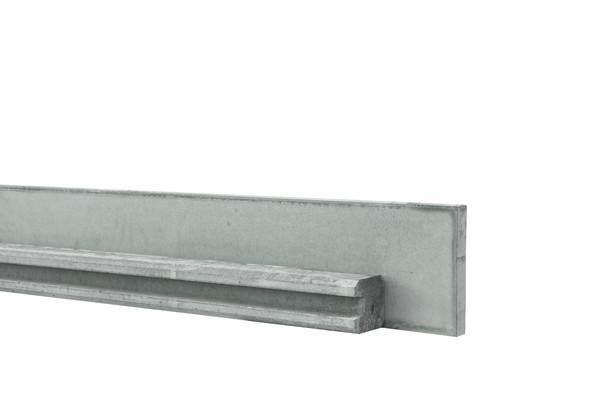 Beton tussenpaal met sponning | Grijs | 10x10x270