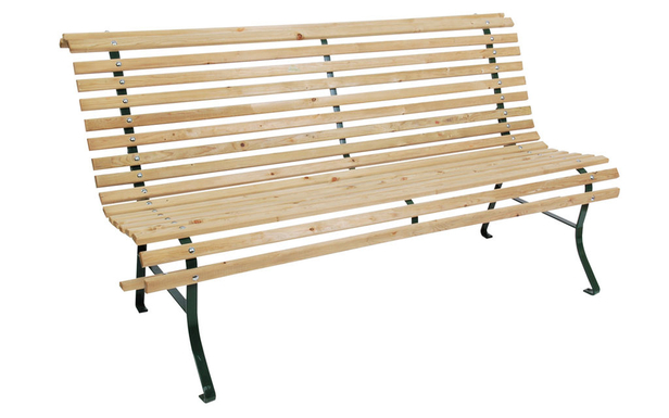 Woodvision | Lattenbank 3-zits | 160x83x75 cm