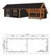 Trendhout | Kapschuur De Hoeve XL 12.17m Combinatie 4