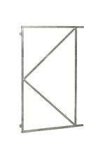 Stalen poortframe verstelbaar 90 x 155 cm