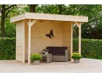 Woodvision | Veranda Grasshopper 200 met wanden