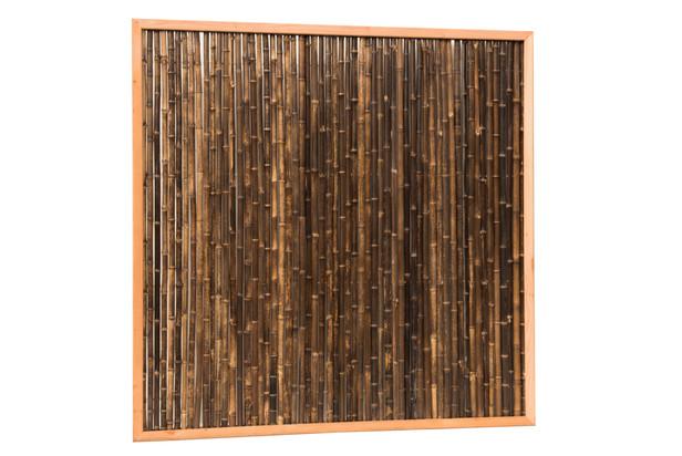 Woodvision | Bamboescherm in Frame | 186x186