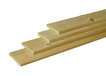 Tuinhout plank ME vuren | 16 x 140 | Geschaafd 180cm