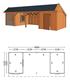 Trendhout | Kapschuur De Stee L 9800 | Combinatie 5