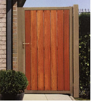 Gardival | Poort Rhone | Open Beplanking | 100x180cm