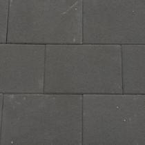 Excluton | Terrassteen 20x30x4 cm | Nero