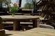 Talen | Picknicktafel Rond | 210 cm | 45 mm