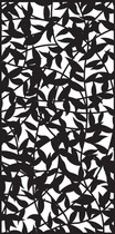 Cortenscherm Leaves - 120x60 cm
