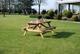 Picknicktafel Robinia 200 cm.